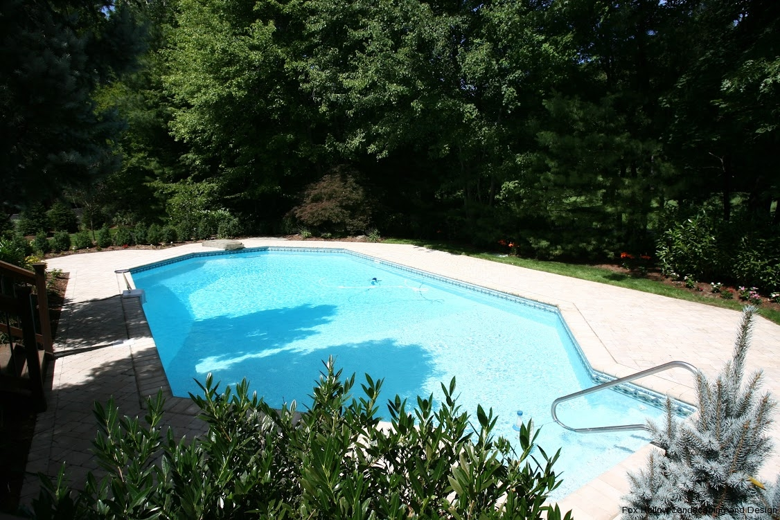 Pool installations and renovations fox hollow for Inground pool design inc