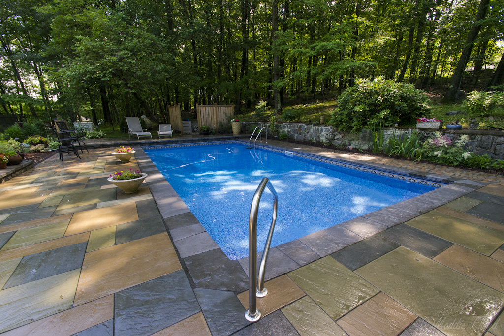 Inground pools fox hollow landscaping and design inc for Inground pool design inc