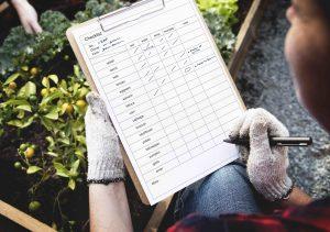 garden checklist