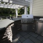 Outdoor kitchen in Northern New Jersey